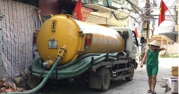 Dịch vụ thông tắc cống tại phường Khương Trung chuyên nghiệp.