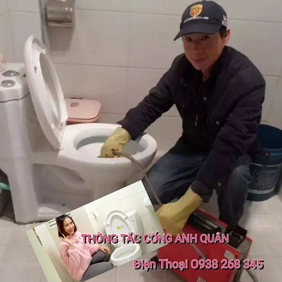 Thợ thông tắc vệ sinh phường Trung Hòa