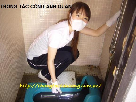 Thợ thông cống nghẹt phường Nghĩa Đô