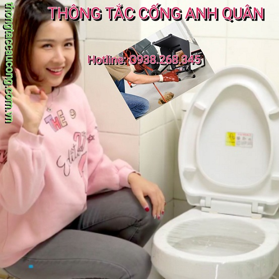 Dịch vụ thông cống nghẹt phường Yên Hòa