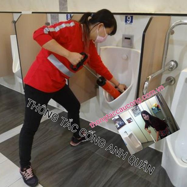Thông tắc vệ sinh tại phường khương thượng