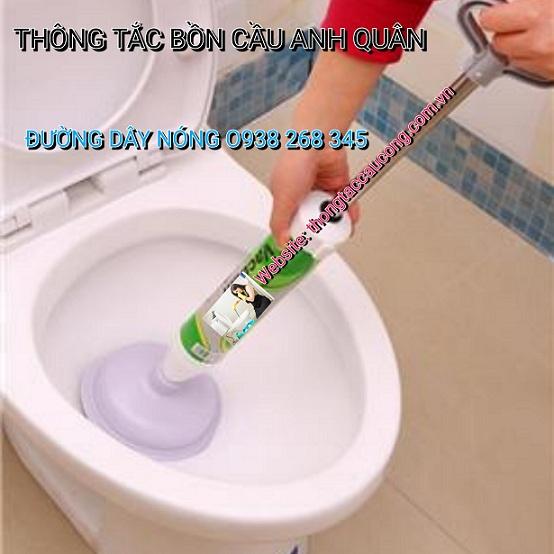 Thông tắc bồn cầu nhà vệ sinh ở phường Trung Văn