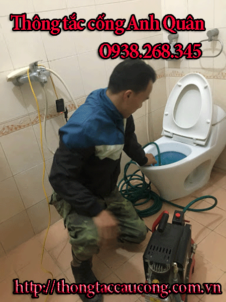 Thợ thông cống nghẹt tại Trung Liệt